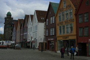 Bergen, a place to shop.